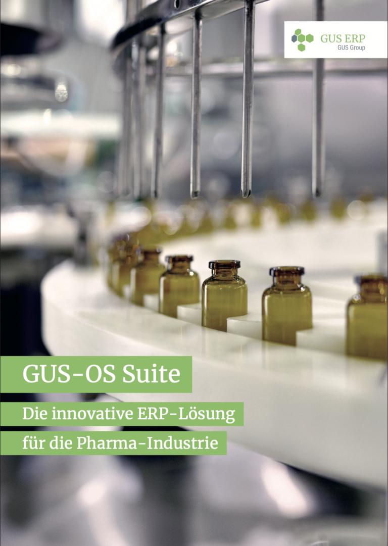 GUSOS Pharma image - GUS-OS Suite - GUS Deutschland